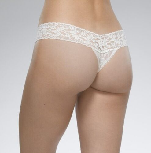 Hanky Panky Low Rise Thong Underwear Panties Buttercup One Size Fits 2-12 NEW!