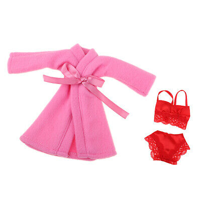 Stylish Nightclothes for 1//6 Doll Nightwear Doll Clothing Pajamas Girl Gifts