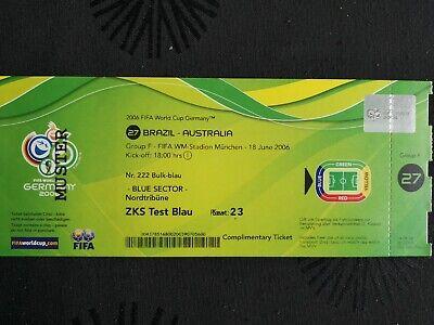 Brasilien # Match 40 Eintrittskarte FIFA Frauen WM 2019 Frankreich France