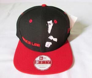 caadd8f3e1e NEW ERA CAP HAT 9FIFTY SNAPBACK BRUCE LEE BLACK RED JEET KUNE DO ...
