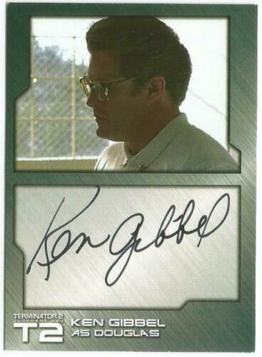Terminator 2 Judgment Day Auto Autograph Selection from Unstoppable Cards