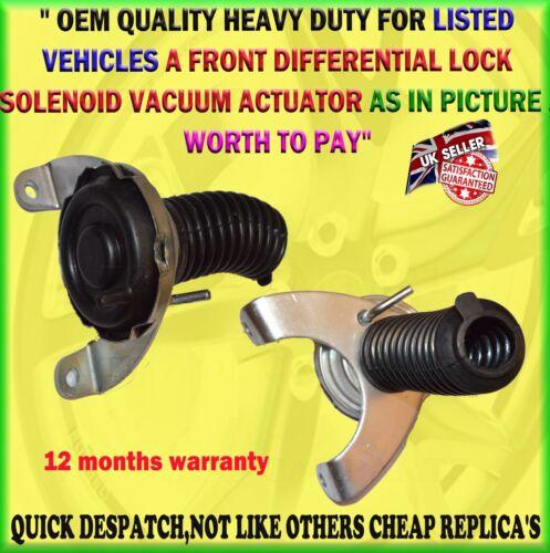 remplacé Actionneur à roue libre embrayage à solénoïde avant MB620790