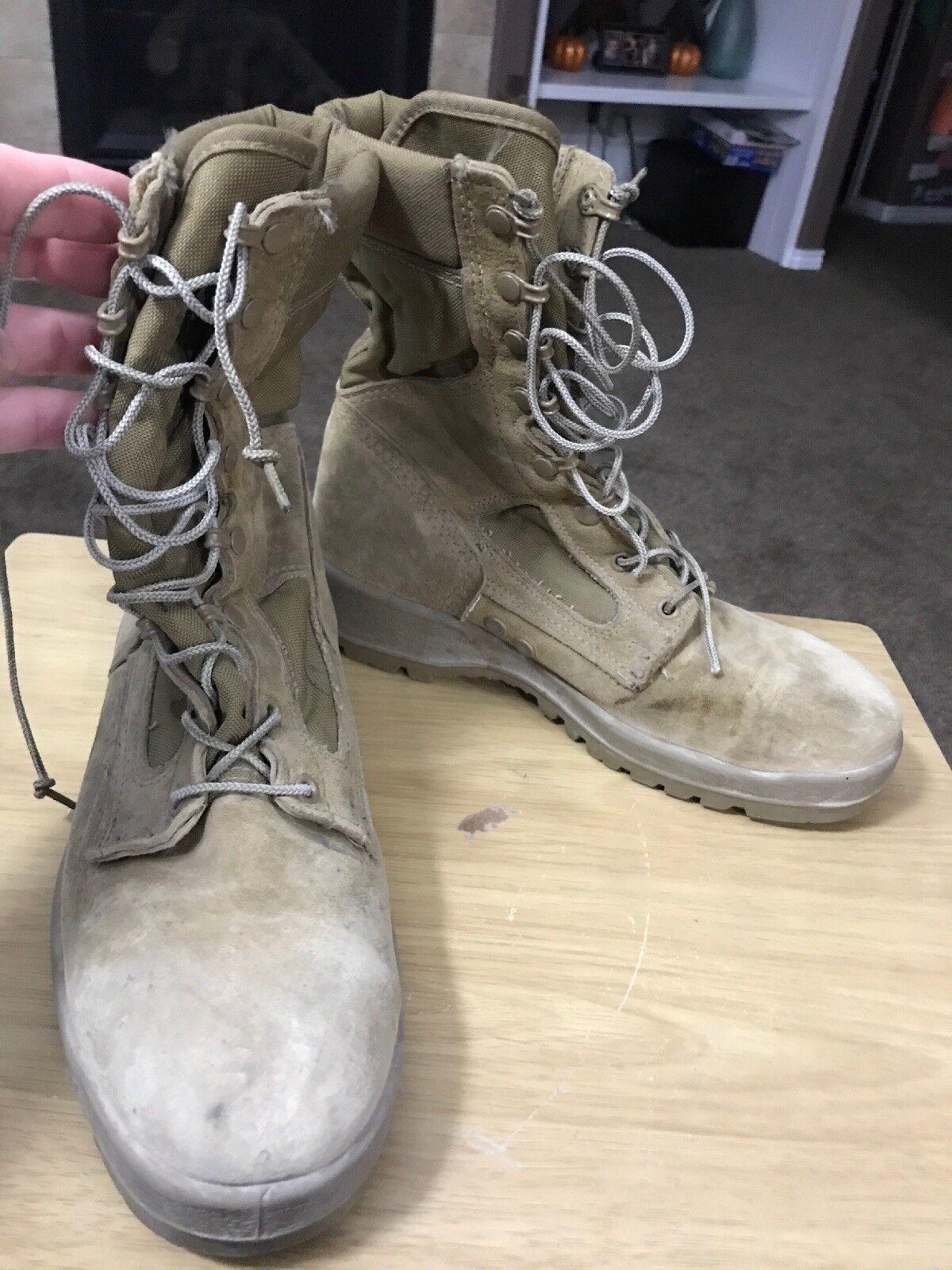 Bates E25501B  Mountain Combat Hiker BOOTS 9W VIBRAM SOLE