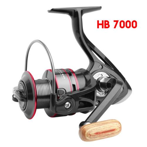 HB500-7000 Spinning Fishing Reel 12BB Metal Spool Gear Ratio 5.2:1 Left