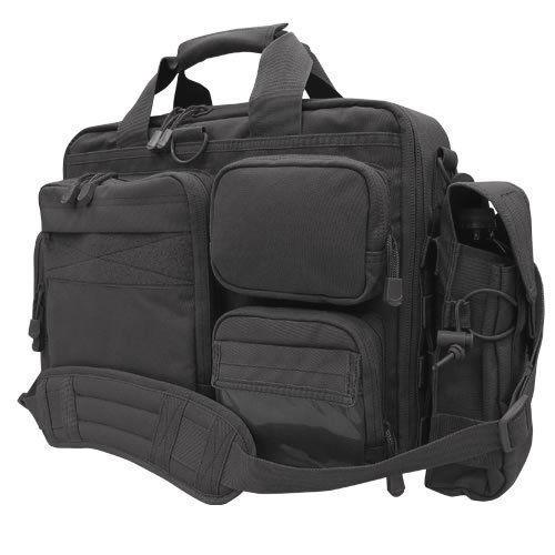 Tactical Briefcase Organizer Pistol Concealment Laptop Sleeve MOLLE Pouch 153