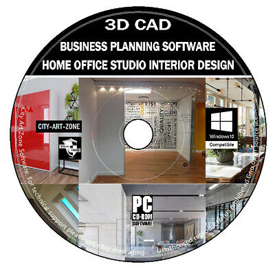 3d Cad Home Office Studio Interior Design Business Place Planning Software Auto Ebay