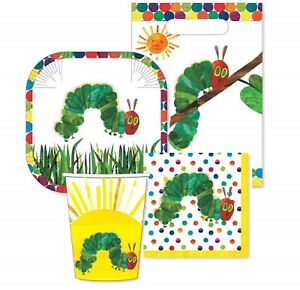 The-Very-Hungry-Caterpillar-Party-Supplies-40pc-Party-Pack-Setting-for-8