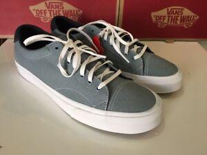 VANS Court Varsity Sport  73 Pale Slate Blue Mens Shoe Size 11.5 ... 39495cb2d