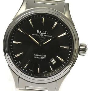 Ballwatch-Stoke-BELLO-NM2098C-Data-Quadrante-Nero-Orologio-Da-Uomo-Automatico-533067