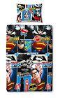 Batman V Superman DC Comics Kids Reversible Single Duvet Cover Bedding Set