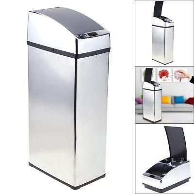 Hervorragend Mülleimer Automatik mit Sensor Deckel Abfalleimer Küche Edelstahl WL42