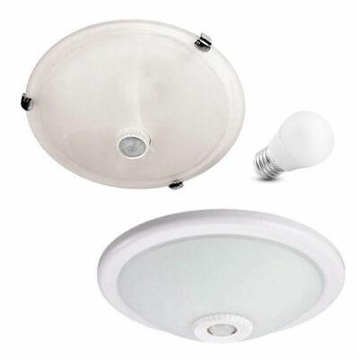 Lampe Mit Sensor : sensor lampe deckenleuchte deckenlampe mit bewegungsmelder ~ Watch28wear.com Haus und Dekorationen