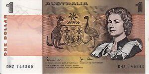 1-One-Dollar-1982-Australia-paper-banknote-Crisp-Flat-UNC-DHZ-series