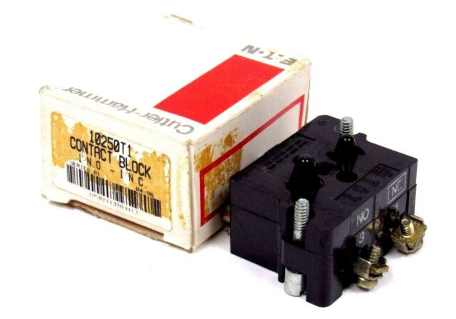 Eaton 10250T1 Contact Block Series D2