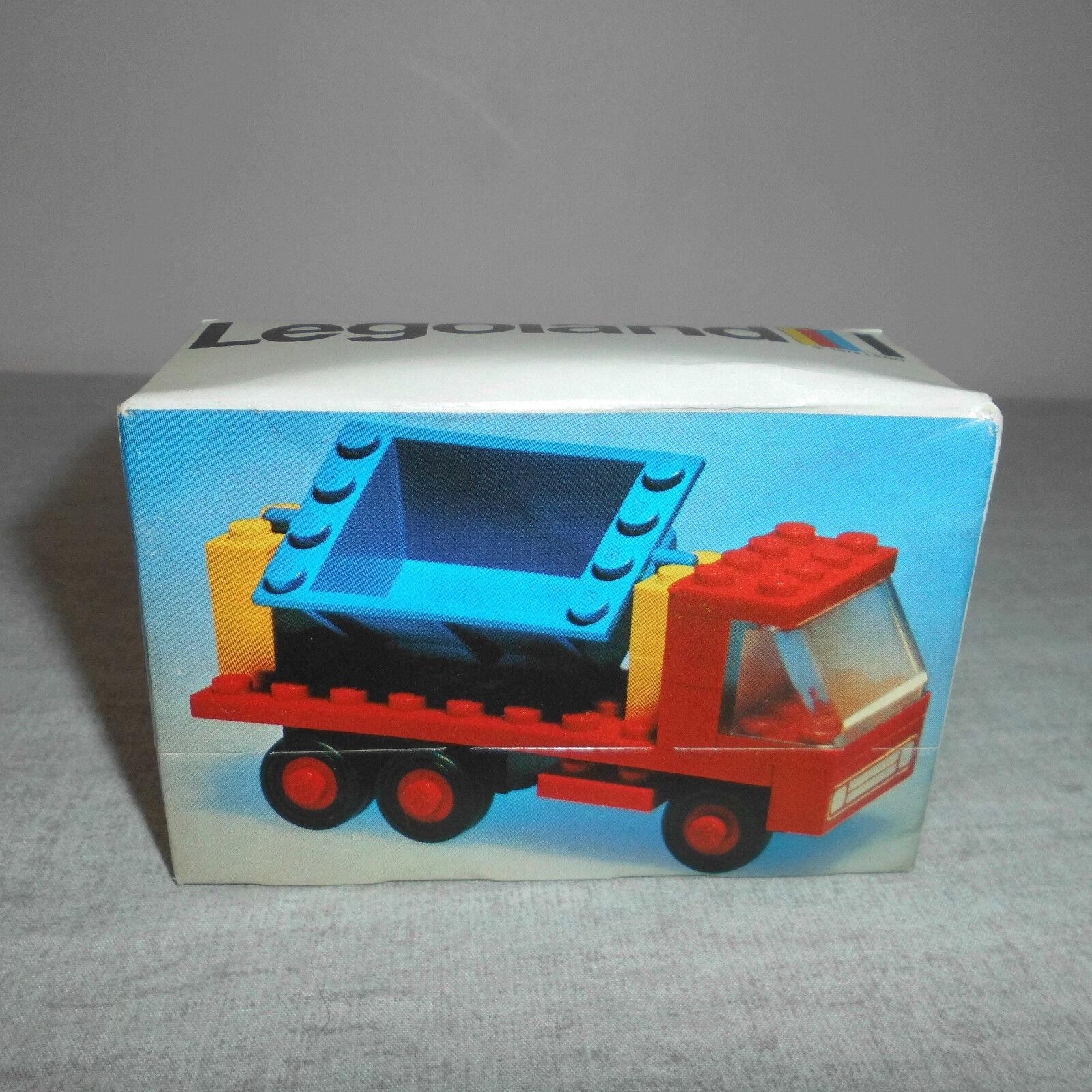 B N vintage Lego 612 Benne de camion à partir de 1974. non ouvert.