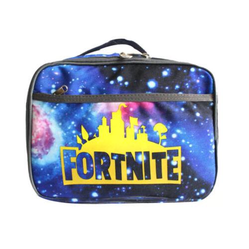 Fortnite Fort Nite Fortnight Game Lunchbox School Bag Boys// Girls Snack Bag