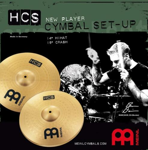 Meinl HCS Basic 14//16 Cymbal Set