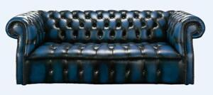 Chesterfield-Darcy-3-Seater-Buttoned-Seat-Antique-Blue-Leather-Sofa