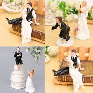 Tortenfigur Brautpaar Tortenaufsatz Tortendeko Hochzeit