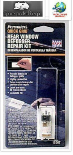 Permatex 15067 Quick Grid Rear Window Defogger Repair Kit
