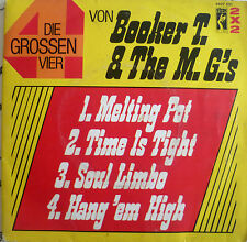 "7"" STAX 2x2 VG+! BOOKER T. & THE M.G.´S : Time Is Tight"