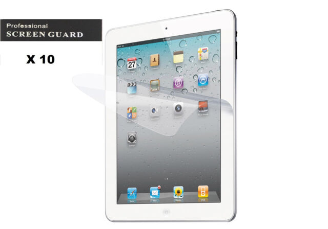For iPad 234 Ultra Clear LCD Front Screen Protector Cover Screen Guard Shield