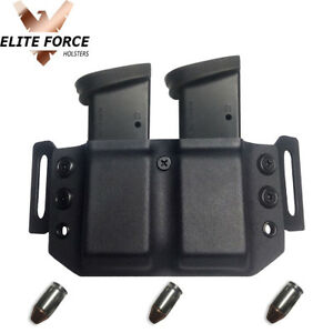 Details about Dual Mag Carrier For EAA Sarsilmaz SAR Arms K2-45 45ACP OWB  Kydex ~AMBIDEXTROUS~