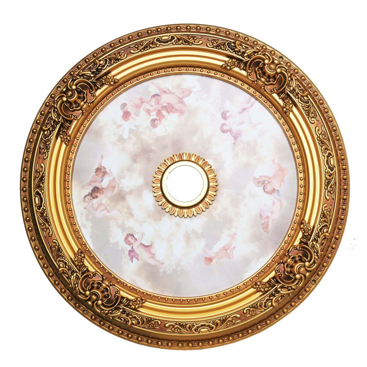 Medallion French Gold Ceiling