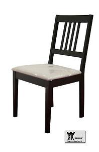 Sedia moderna in Legno wengé da cucina e soggiorno 11 | eBay