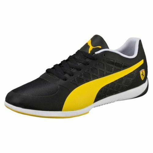 NEW MENS PUMA VALOred SF FERRARI BLACK   YELLOW sz 7.5