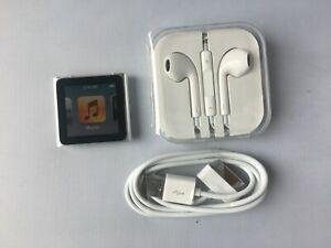 Apple Ipod Nano 6th Generation Silver 16gb 3263 Ebay