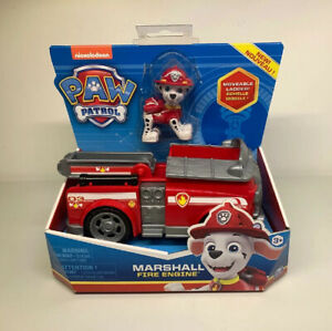 Paw-Patrol-Marshall-039-s-Fire-Engine-Truck-W-Collectable-Figure-Brand-New