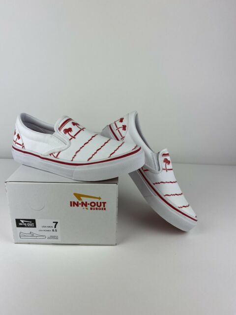 In-N-Out Burger Drink Cup Shoes Size 7 Mens, Womens 8.5 SOLD OUT NIB