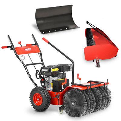 **Hecht 8616 SE  Kehrmaschine  Schneefräse Motorbesen mit Elektro Start