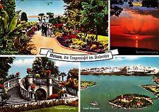 Mainau , die Tropeninsel im Bodensee , Ansichtskarte,1968 gelaufen