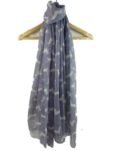 Nouveau Débardeur coloré teckel Imprimé écharpe De Saucisse Chien foulards chiens Châle Wrap