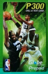 Globe-Phone-card-NBA-Special-Edition-2003-used