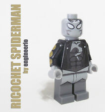 LEGO Custom -- Ricochet Spiderman -- marvel super heroes ironman thor