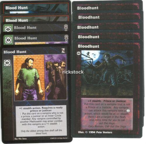 Bloodhunt Blood Hunt x10 KoT CE Jyhad VTES