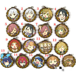 Anime-SINoALICE-rubber-Keychain-Key-Ring-Race-Straps-cosplay