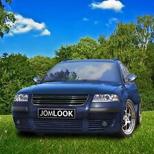 VW Passat B5.5 Badgeless R-TYPE Grill GRILLE  BLACK 2001 2002 2003 2004 2005