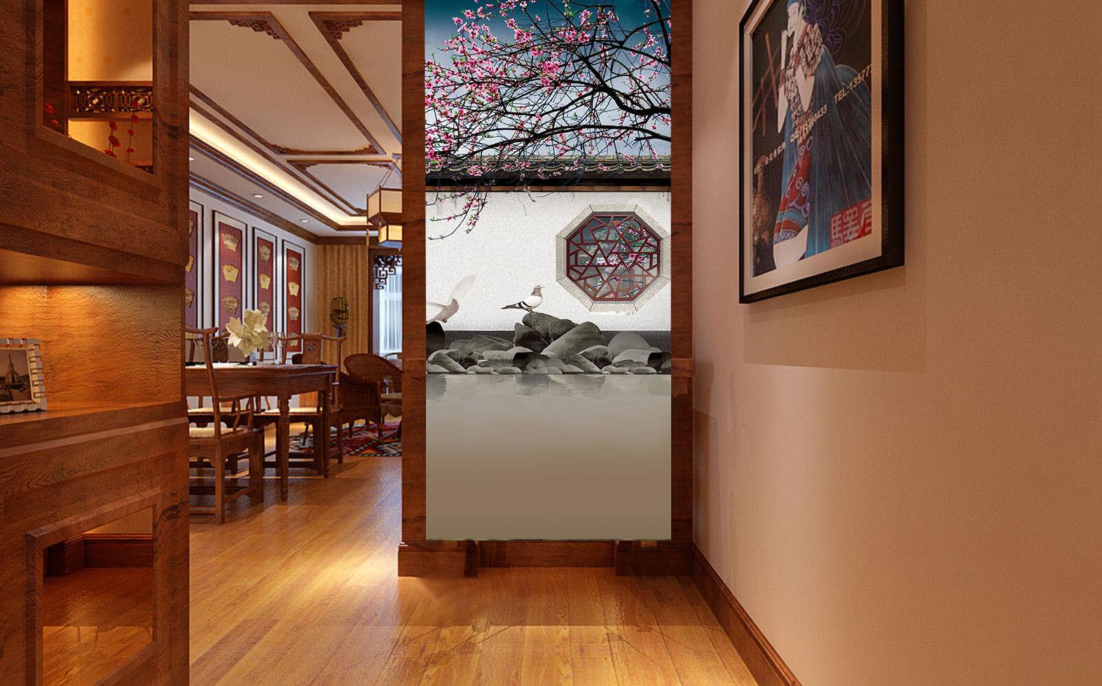 3D Wand Baum Taube 864 Tapete Wandgemälde Tapete Tapeten Bild Familie DE Summer