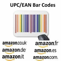 5000 Upc Ean Codes Certified Numbers Barcodes For Amazon Ebay Lifetime Guarantee