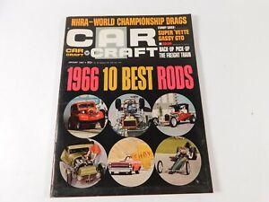 Vintage Original January 1967 Car Craft Magazine Automotive Custom Car Mods