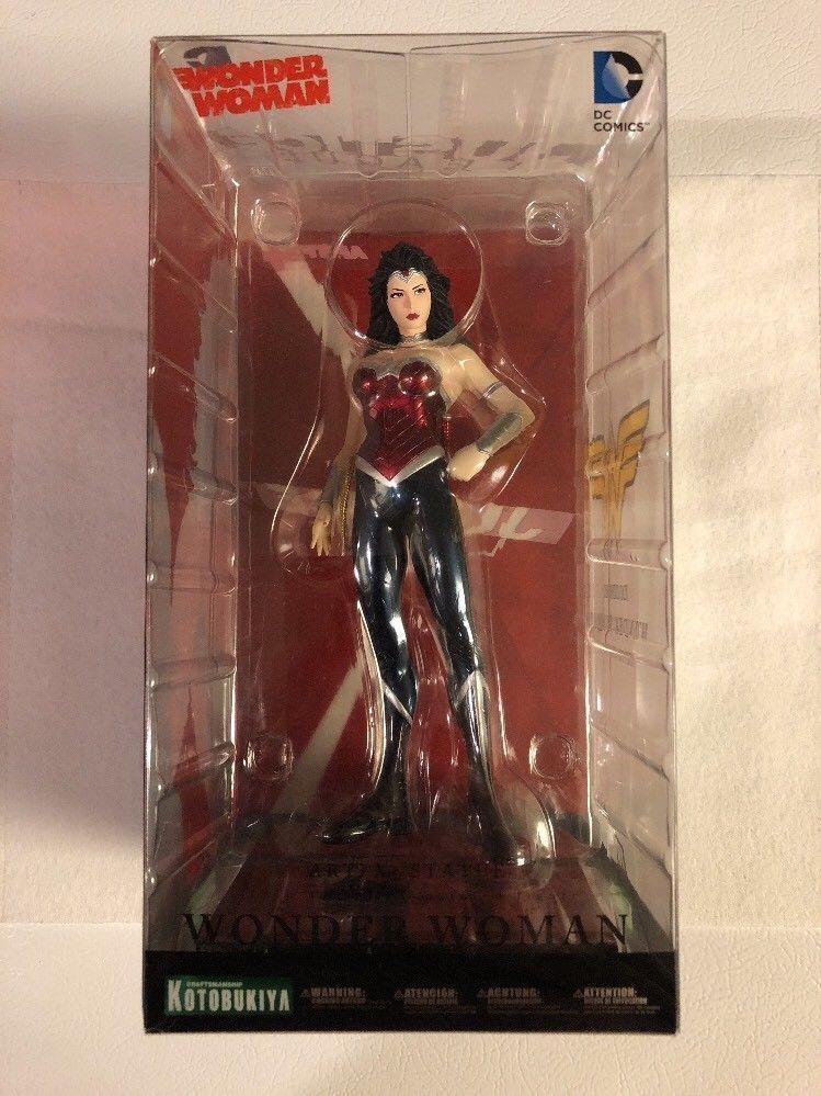 KOTOBUKIYA DC COMICS WONDER WOMAN BRAND NEW 52 ARTFX+ Statue 1 10 Scale