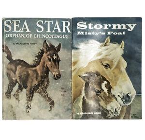 Stormy Mistys Foul 1st Ed & Sea Star Vintage Scholastic 2 Book Set TX834 TX1206