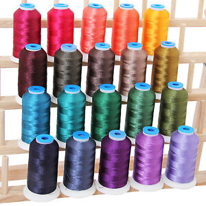 machine embroidery thread sets