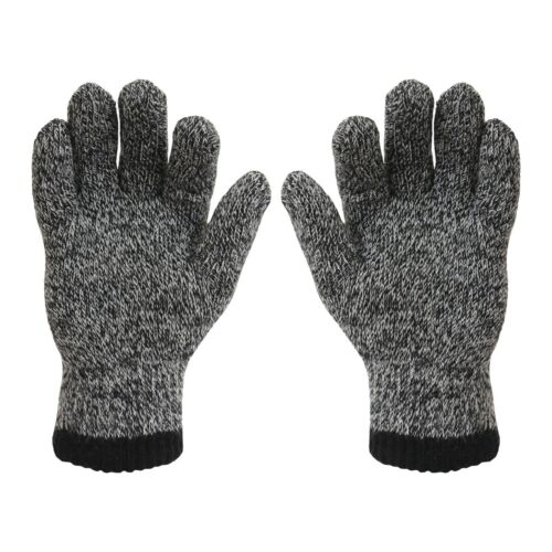 Mens Thermal Heat Machine Gloves Double Insulated  2.3 Tog Thick Warm Free Del