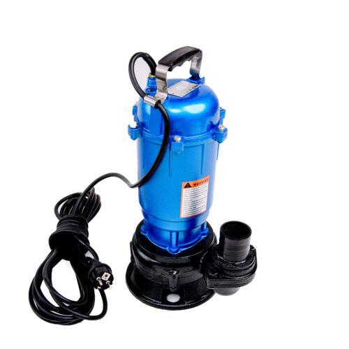 Fèces Pompe 550 W M avec commutateur pompe 0,55 KW Pompe à eau Pompe immergée pour