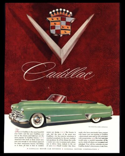 Vintage Classic Car Print Ads Collection On EBay